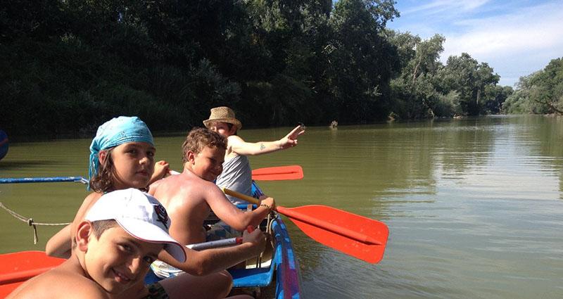 gita in canoa sul fiume Ombrone